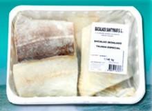 Bacalao desalado - Tajada especial