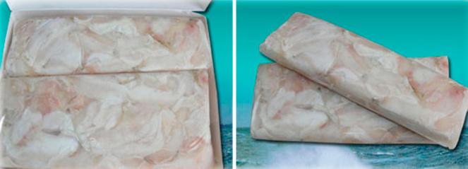 Frozen cod - Cheeks